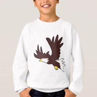 Bald Eagle Cartoon Sweatshirt