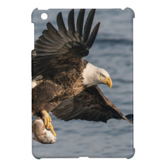 Bald Eagle Catching Food iPad Mini Cover