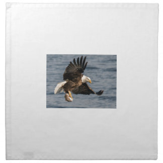 Bald Eagle Catching Food Napkin