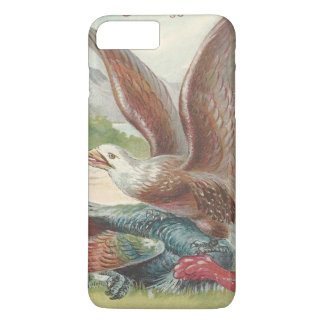 Bald Eagle Catching Thanksgiving Turkey iPhone 7 Plus Case