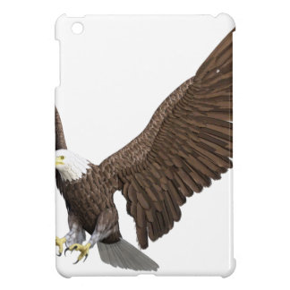 Bald Eagle Coming In For A Landing Cover For The iPad Mini