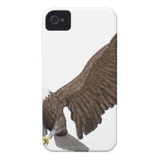 Bald Eagle Coming In For A Landing iPhone 4 Case