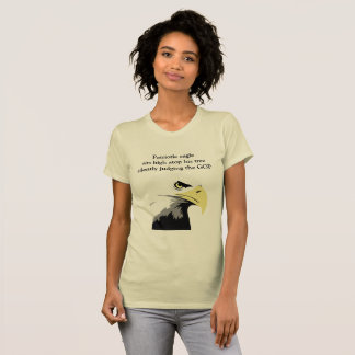 Bald Eagle Commentary on Modern Politics T-Shirt