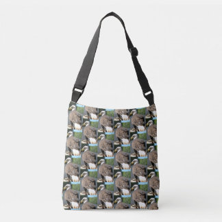 Bald Eagle Cross Body Tote