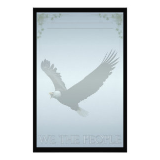 Bald Eagle Custom Stationery