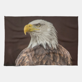 Bald Eagle design gifts and products Kitchen Towel
