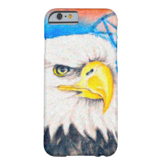 Bald Eagle Dreamcatcher Art Barely There iPhone 6 Case