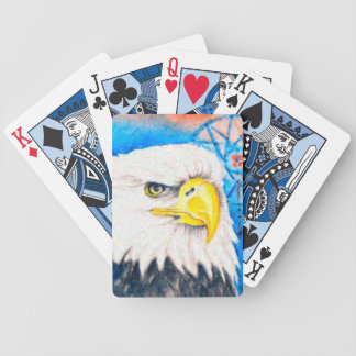 Bald Eagle Dreamcatcher Art Bicycle Playing Cards
