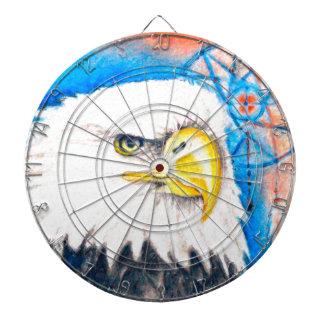 Bald Eagle Dreamcatcher Art Dartboards