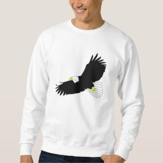 Bald Eagle Flying Sweatshirt