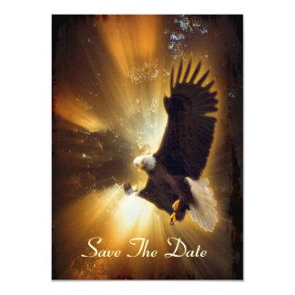 Bald Eagle & Forest Sunlight Invitation Cards