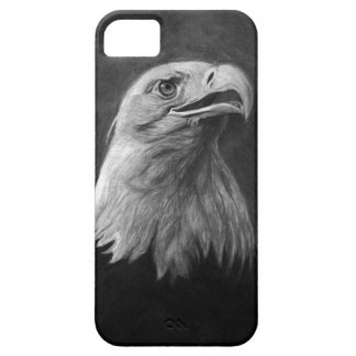 Bald Eagle, Hand Drawn Graphite Case For The iPhone 5