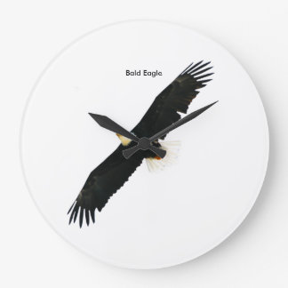 Bald Eagle image for Round-Large-Wall-Clock Large Clock