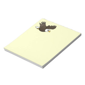 Bald Eagle in flight Notepad