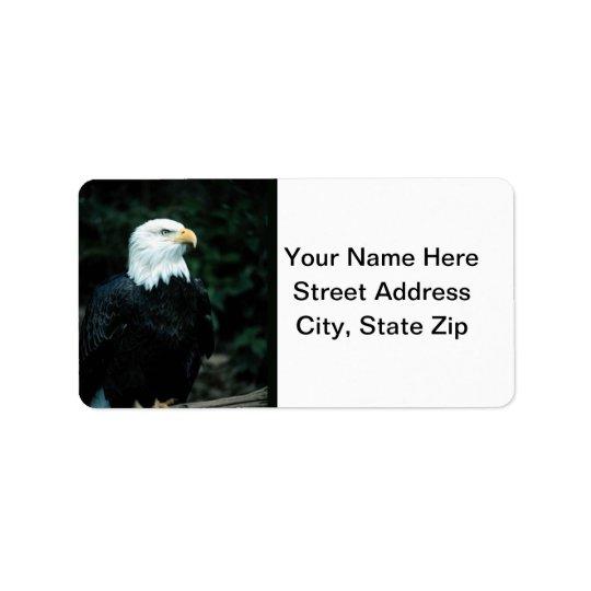 Bald Eagle Label