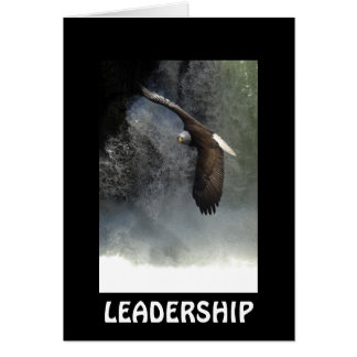 Bald Eagle LEADERSHIP Card