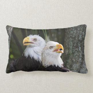 Bald Eagle Lumbar Pillow