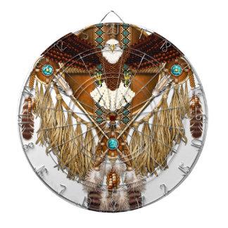 Bald Eagle Mandala - revised Dartboard