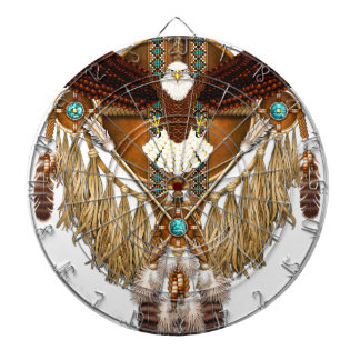 Bald Eagle Mandala - revised Dartboards
