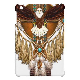 Bald Eagle Mandala - revised iPad Mini Cover