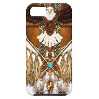 Bald Eagle Mandala - revised iPhone 5 Cover