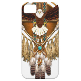Bald Eagle Mandala - revised iPhone 5 Covers