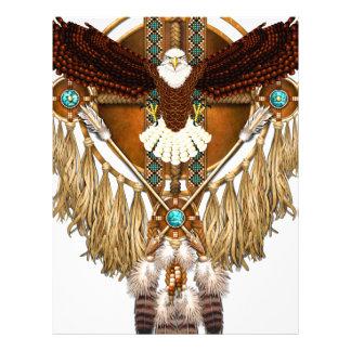 Bald Eagle Mandala - revised Letterhead