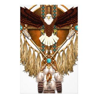 Bald Eagle Mandala - revised Stationery