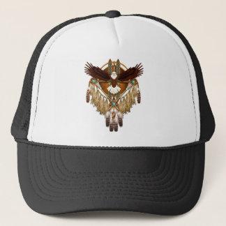 Bald Eagle Mandala - revised Trucker Hat