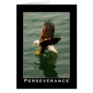Bald Eagle Motivational Gift Card