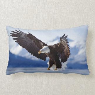 Bald Eagle Of The North Lumbar Pillow