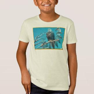 Bald Eagle Organic T-Shirt for Kids