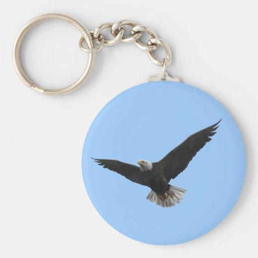Bald Eagle Patriotic Keychains