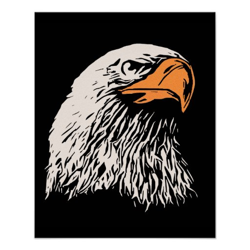 Bald Eagle Patriotic Posters