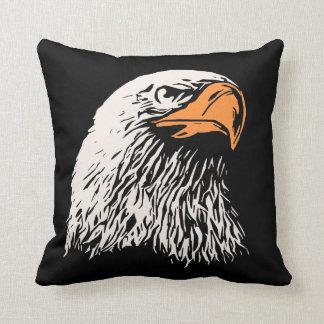 Bald Eagle Patriotic Throw Pillow