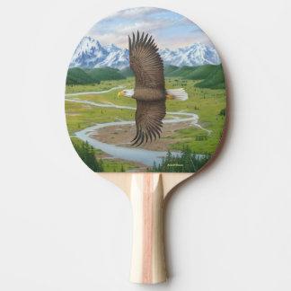 Bald Eagle Ping Pong Paddle