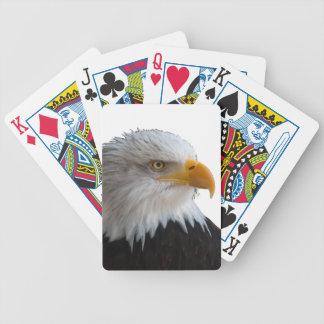 Bald eagle poker deck