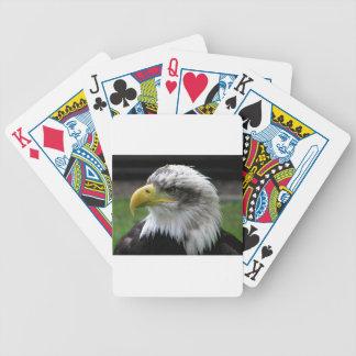 bald-eagle poker deck