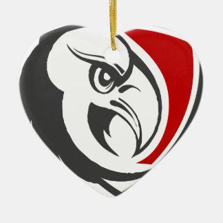 Bald Eagle Pride Ceramic Ornament