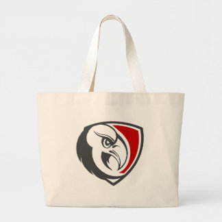 Bald Eagle Pride Large Tote Bag