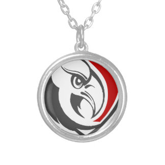Bald Eagle Pride Silver Plated Necklace