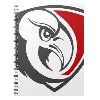 Bald Eagle Pride Spiral Notebook