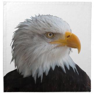 Bald eagle printed napkin