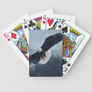 Bald Eagle Raptor Wildlife Designer Pack Poker Deck