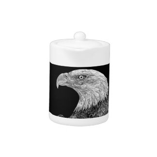 Bald Eagle Scratchboard