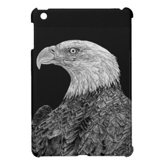 Bald Eagle Scratchboard Cover For The iPad Mini