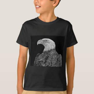 Bald Eagle Scratchboard T-Shirt