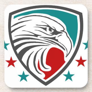Bald Eagle Security And Protection Coaster