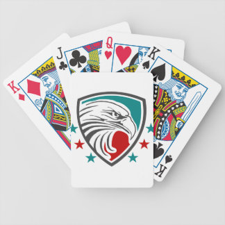 Bald Eagle Security And Protection Poker Deck