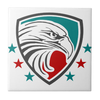 Bald Eagle Security And Protection Tiles